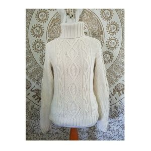 Lauren Ralph Lauren Chunky Cable Knit Sweater